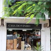 Photo taken at Casa do Vinho by Outra Visão Comunicação on 4/26/2013