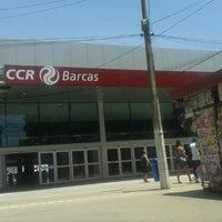 Photo taken at CCR Barcas - Estação Araribóia by @Maicon D. on 11/3/2013