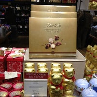 Photo taken at Lindt Factory Outlet by Arnold H. on 11/20/2012