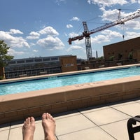 Photo taken at The Whitman Rooftop Pool by Justin K. on 6/2/2017