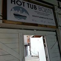Photo taken at Hot Tub Boats by Sterling Hines Elzinga on 6/2/2013