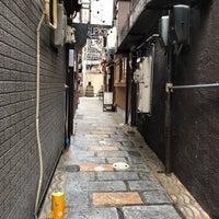 Photo taken at 蜆楽通り by Kazu K. on 4/7/2018