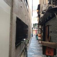 Photo taken at 蜆楽通り by Kazu K. on 10/25/2017