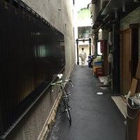 Photo taken at 蜆楽通り by Kazu K. on 3/18/2016
