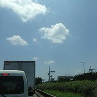 Photo taken at 唐崎北2丁目交差点 by Kazu K. on 7/8/2013