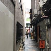 Photo taken at 蜆楽通り by Kazu K. on 10/18/2017
