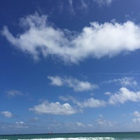 Photo taken at Ft. Lauderdale Beach @ Beach Place by Rodelio C. on 2/9/2018