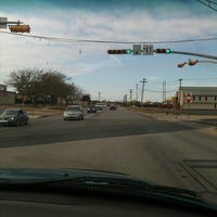 Photo taken at fort hood street & centex expressway stoplight by Donna G. on 12/15/2012
