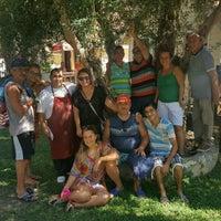 Photo taken at Nova Beach Hotel by Sernur Ç. on 9/17/2016