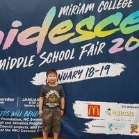 Photo taken at Miriam College Middle School by Ning F. on 1/21/2018