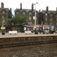 Photo taken at Harrogate Railway Station (HGT) by Stu M. on 7/28/2013