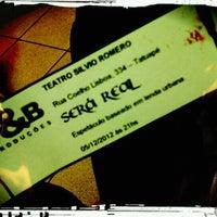 Photo taken at Teatro Silvio Romero by Marcella S. on 12/6/2012