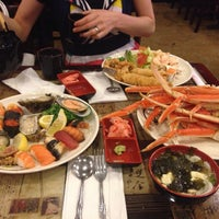 Photo taken at Osaka Japanese Seafood Buffet by Ekrem Ersen E. on 6/16/2014