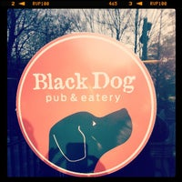Photo taken at Black Dog Pub & Eatery by Jensen R. on 4/26/2013
