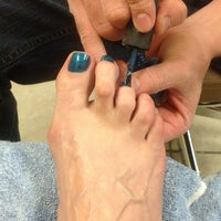 Photo taken at Mystic Nail And Spa by Ann S. on 2/7/2013