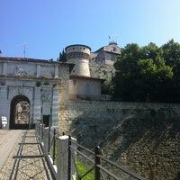 Photo taken at Castello di Brescia by Axel S. on 6/23/2013