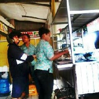 """Photo taken at Mie ayam """"alex"""" by Hendronovianrie A. on 1/11/2013"""