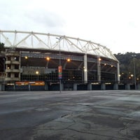 Photo taken at Stadio Olimpico by Gianni E. on 1/23/2013