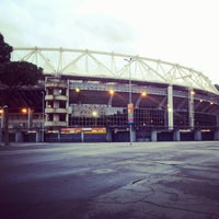 Photo taken at Stadio Olimpico by Gianni E. on 2/1/2013