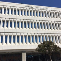 Photo taken at Los Angeles Superior Downey Courthouse by Mark L. on 10/6/2017