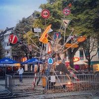 Photo taken at Friesenplatz by Tekinka L. on 9/23/2013