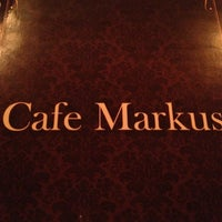 Photo taken at Cafe Markus by Katherine K. on 3/21/2013
