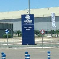 Photo taken at Airbus Military San Pablo Sur by Lizbet P. on 7/25/2013