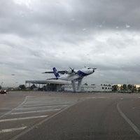 Photo taken at Airbus Military San Pablo Sur by Lizbet P. on 2/19/2013