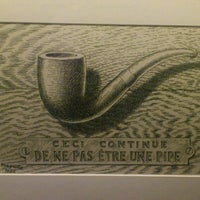 Photo taken at Magritte Museum by Cécile G. on 12/27/2012