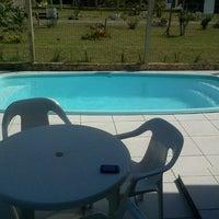 Photo taken at Passarela Rainha do Mar (Parque Serrano) by Diogo B. on 1/4/2013