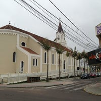 Photo taken at Catedral De São José Dos Pinhais by Ivonei S. on 9/5/2013