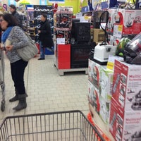 Photo taken at Auchan by Luca C. on 12/22/2013