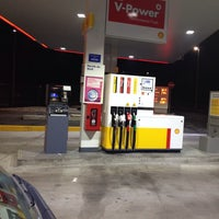 Photo taken at Benzinaio Shell by Luca C. on 12/22/2013