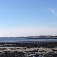 Photo taken at Ballyloughaun Beach by Paula S. on 4/8/2015