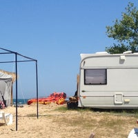 Photo taken at Къмпинг Градина (Gradina Camping) by Martin J. on 7/28/2013