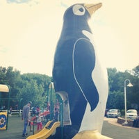 Photo taken at Penguin Park by leanna j. on 6/2/2013