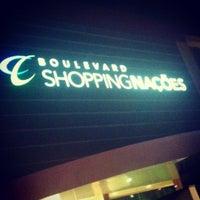 Foto tirada no(a) Boulevard Shopping Nações por Lucas L. em 11/29/2012