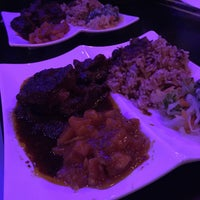 Photo taken at Sisters Carribean Cuisine by Eddie Q. on 1/18/2015
