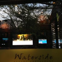 Photo taken at Waterside Resort Restaurant by ikarnkarn w. on 4/21/2013