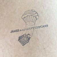 Photo taken at James and The Giant Cupcake by Alan P. on 2/18/2017