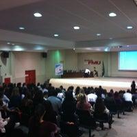 Photo taken at FMU - Campus Santo Amaro by Thalissa M. on 10/24/2012