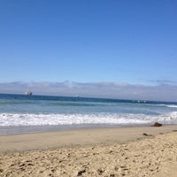 Photo taken at Huntington Dog Beach by Aubrey on 10/19/2012