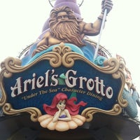Photo taken at Ariel's Grotto by Automne K. on 7/12/2013