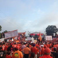 Photo taken at ESPN College GameDay by JP on 8/31/2013