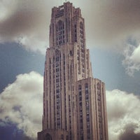 Photo taken at Cathedral of Learning by Joe M. on 5/21/2013