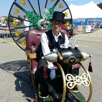 Photo taken at The Maker Faire - Detroit by Q T. on 7/26/2014