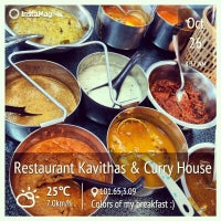 Photo taken at Kavitha's Curry House by Laven L. on 10/26/2013