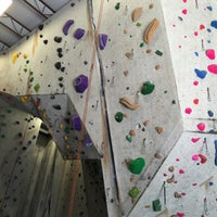 Photo taken at Ibex Climbing Gym by Matt J. on 4/14/2015