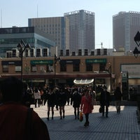 Photo taken at Tamachi Station by Michael K. on 3/15/2013