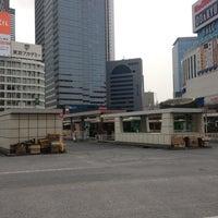 Photo taken at Shinjuku Sta. West Exit Bus Terminal by Michael K. on 3/29/2013